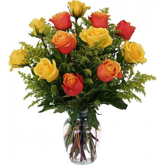 Bouquet de fleurs Autumn Roses