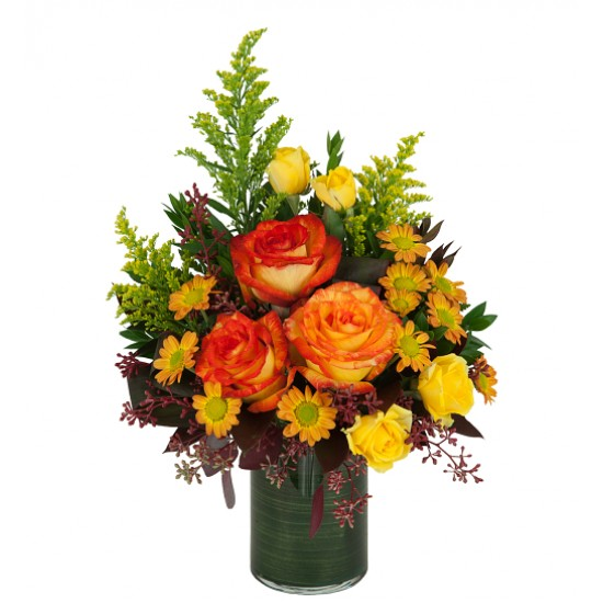 Bouquet de fleurs Sunrise Roses