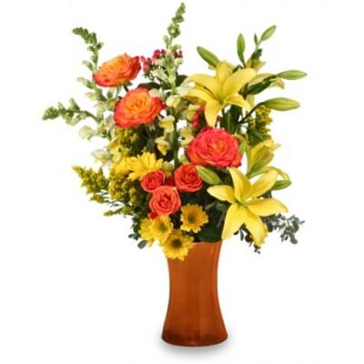 Bouquet de fleurs Autumn Excitment