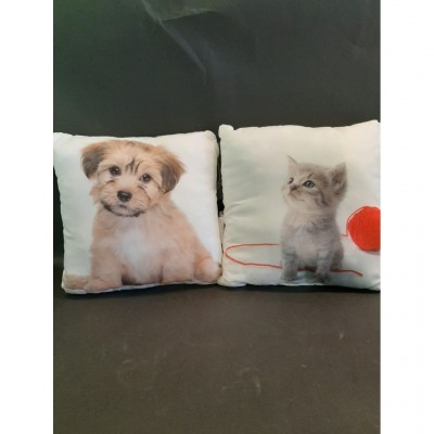 Coussin Chat chien
