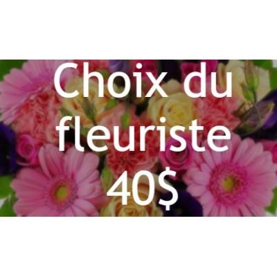 Bouquet de fleurs Choix du fleuriste Pâques 40$