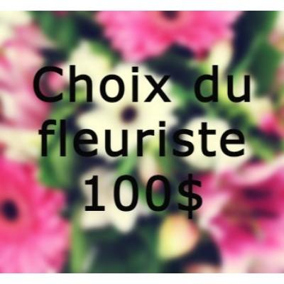 Bouquet de fleurs Choix du fleuriste Pâques 100$