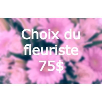 Bouquet de fleurs Choix du fleuriste Pâques 75$