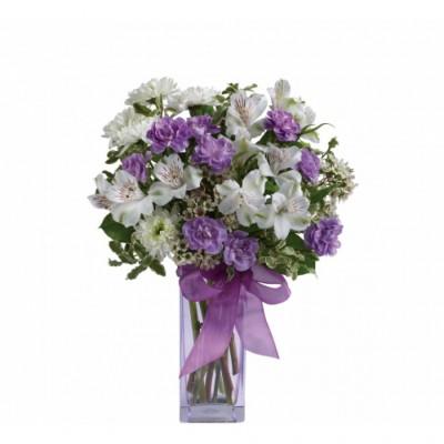 Bouquet de fleurs Lavender Laughter