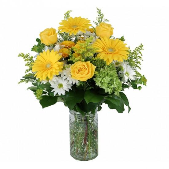 Bouquet de fleurs Sunlight