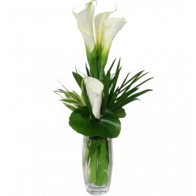 Arrangement funéraire Calla Lover