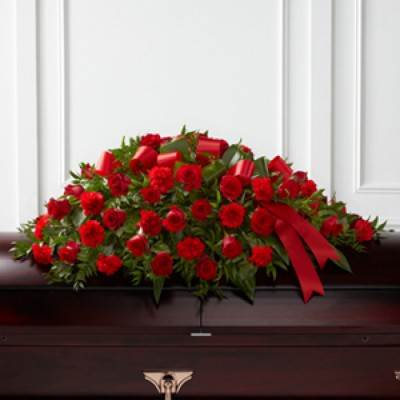 Coussin funéraire Dearly Departed