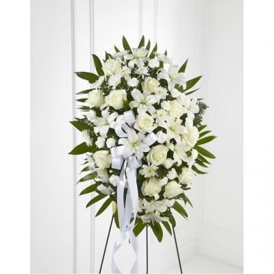 Gerbe funéraire Exquisite Tribute