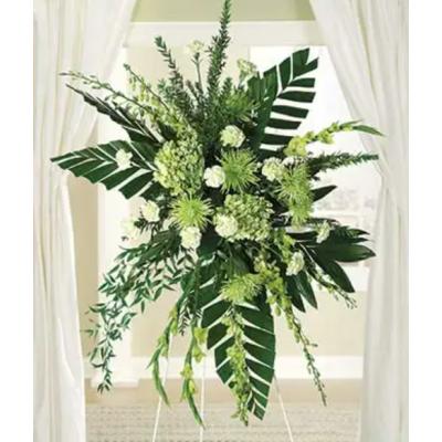 Gerbe funéraire Greenery Love
