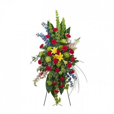 Gerbe funéraire Treasured Celebration