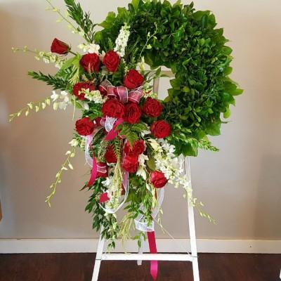 Couronne funéraire Eternal Roses