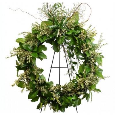 Couronne funéraire Evergreen