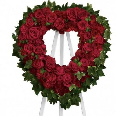 Couronne funéraire Heartbroken