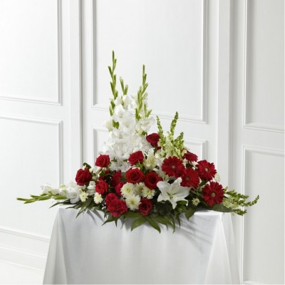Urne funéraire Crimson & White