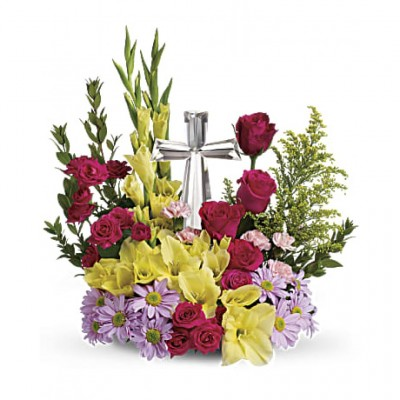 Urne funéraire Crystal Cross