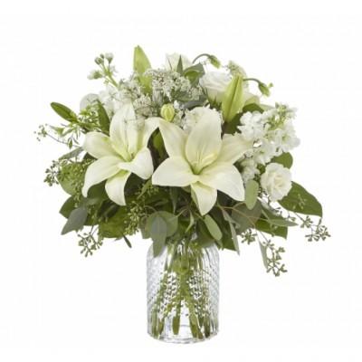 Arrangement funéraire Alluring Elegance
