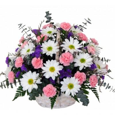Arrangement funéraire Charming Flowers