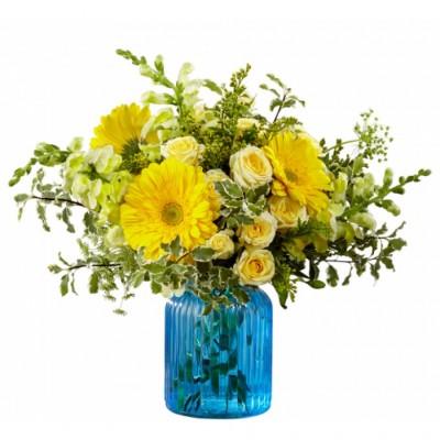 Bouquet de fleurs Something Blue for Baby