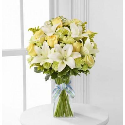 Bouquet de fleurs Boy-Oh-Boy