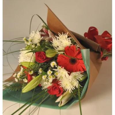 1-Choix du fleuriste Bouquet de Noël