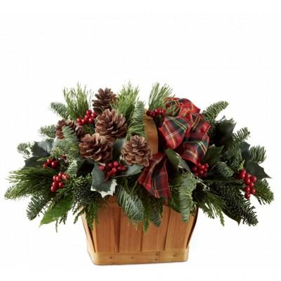 Arrangement de Noël Christmas Coziness