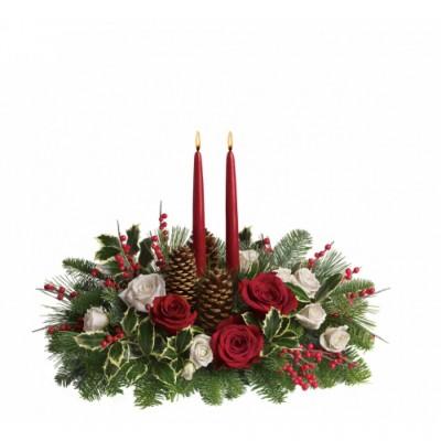 Christmas Table Center Christmas Wishes