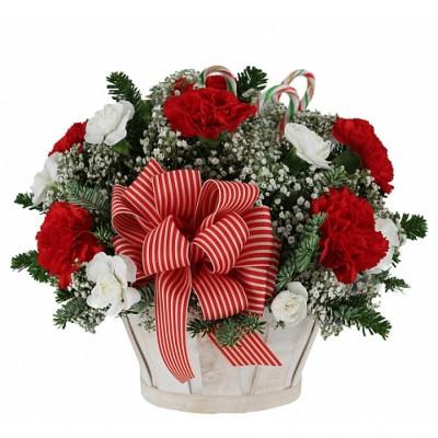 Arrangement de Noël Candy Cane Wishes