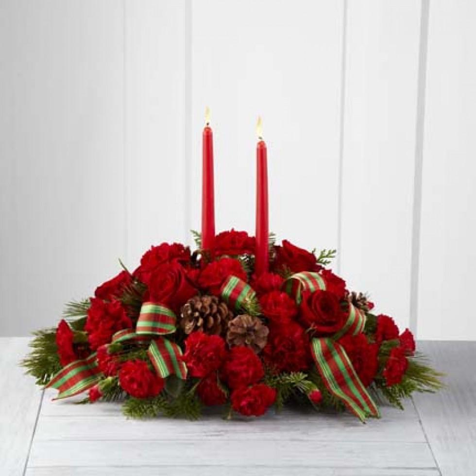 Centre de table classique des fêtes™ ftd fleuriste