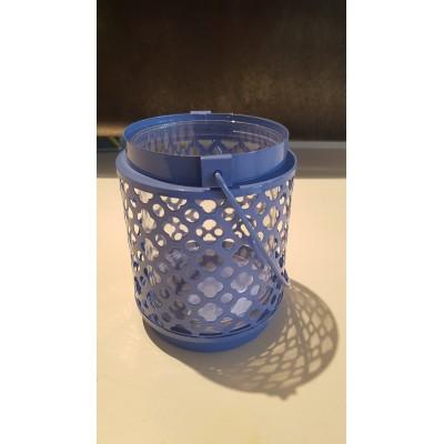 Vase Lanterne bleue