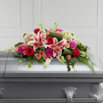 Splendid Grace™ Casket Spray by FTD®