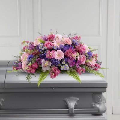 Glorious Garden™ Casket Spray by FTD®